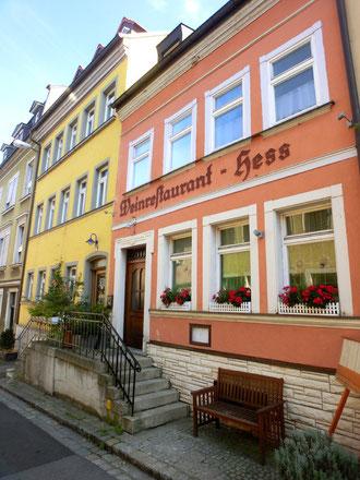 Weinrestaurant Hess - früher Gößwein