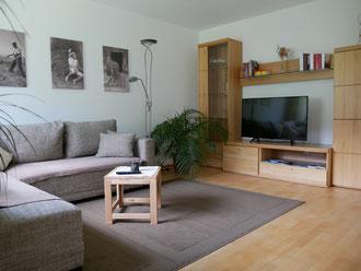 Ferienwohnung Elias Riezlern Wohnraum