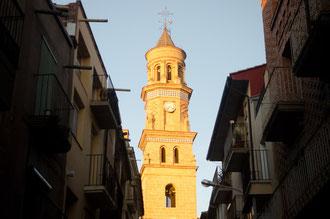 Maella, torre del reloj