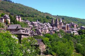 Village médiéval de Conques