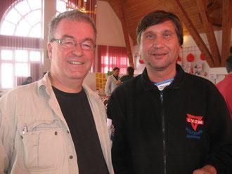 Von links: Johann Vilhelm Eltvik und Manfred Wille