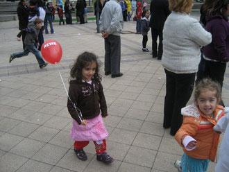 Auch die Jüngsten hatten riesigen Spaß beim Stadtteilfest