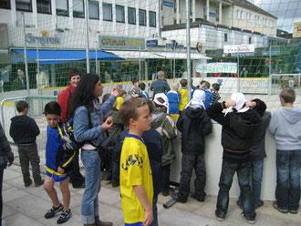 Streetsoccer: Fußball zieht natürlich immer in der Stadt des Deutschen Fußballmeisters