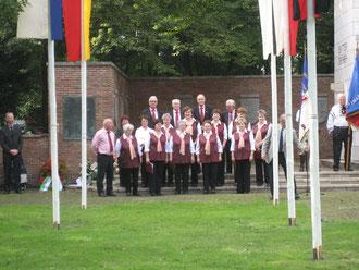Der Chor der Deutschen aus Rußland beim Tag der Heimat