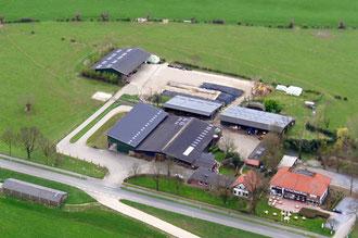 Luftaufnahme Hof Copray