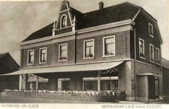 Restauration Hoegen um 1930