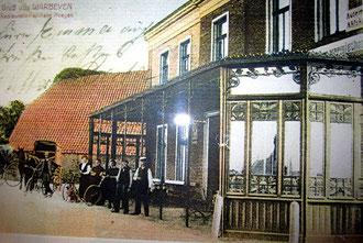 Postkarte Hof Copray um 1900