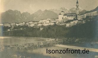 Belluno im Dezember 1917. Sammlung Isonzofront.de
