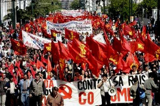 KKE - demonstration