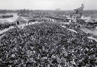 "atomkraftmodstandscamp ""Freie Republik Wendland"", maj 1980"