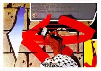 PFLP-plakat af Marc Rudin