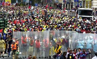 Disobbedienti bevægelse ved G8 topmødet i Genova