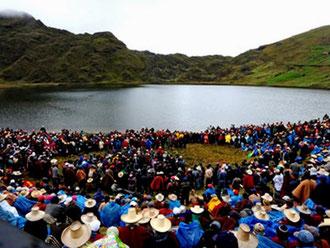 Bjergsø i Perus højland