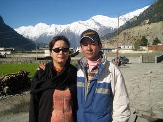 Nirjhar dans son villege de Tukutche