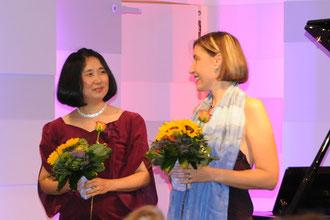 Konzert Frauen komponieren: Andrea Schwab - Mezzosopran Asako Hosoki - Klavier