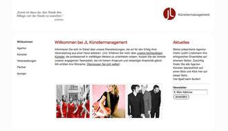 www.jl-kuenstlermanagement.de