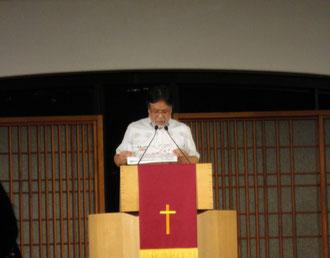 7月11日 震災祈祷会 (於:淀橋教会)