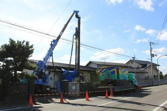 井戸の掘削工事