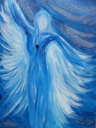 """Engel """"Sodalith""""  -   bereits vergeben"""