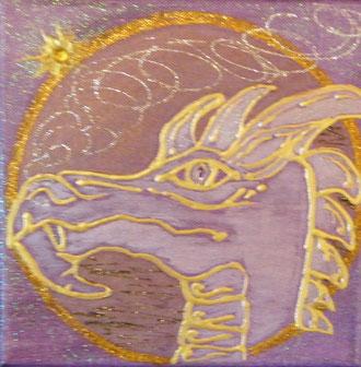 Der goldene Drache der Weisheit - bereits vergeben