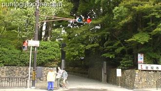Entrata Tempio Rokuon-ji