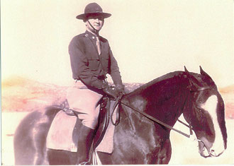 Marty Higgins, 10th Cavalry Jan. 29,1943 (Photo courtesy Higgins Family Collection)