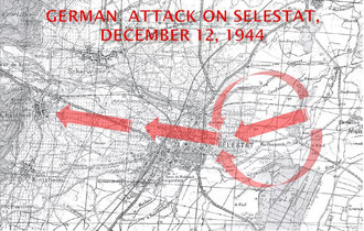 German Assault on Selestat Dec. 12, 1944