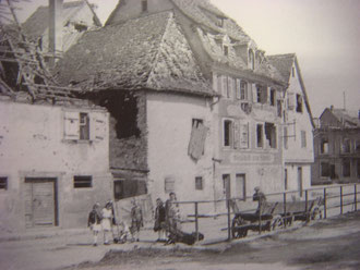 Selestat 1944 after the Battle