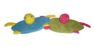Kits doudous tortues