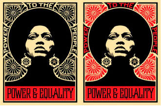 Shepard Fairey Afrocentric