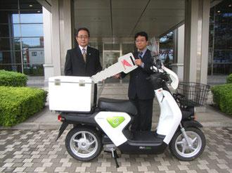 協力企業への納車(オプション装着車)