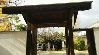 浄春寺の門(大阪市天王寺区)