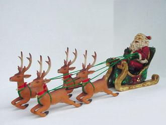 réplicas de Santa Claus