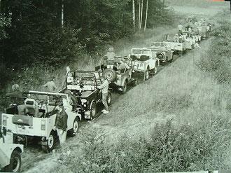 1. Lausitzer Geländewagenrallye ´87