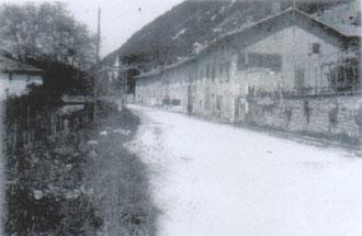 La Buisserate, avant le passage des bombardiers.