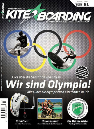 Kiteboarding.de 3/2012 Cover
