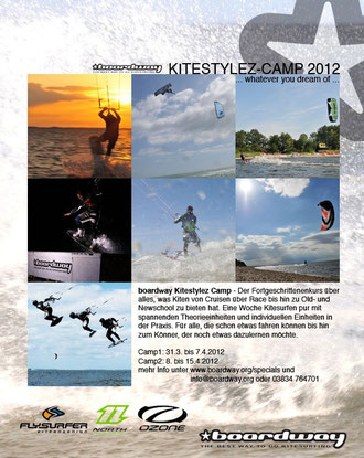 Kitestylez Camp Boardway