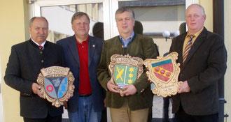 GGR Dirnberger, HD Schaffer, Vizebgm. Rosenkranz & Vizebgm. Steindl