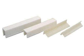Heftklammern aus Kunststoff - Plastik - Plastikheftklammern - Kunststoffheftklammern