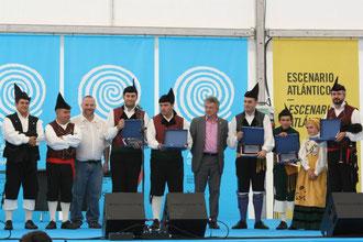 """Entrega de premios del Concursu de Bandes de Gaites """"Arcu Altánticu"""""""