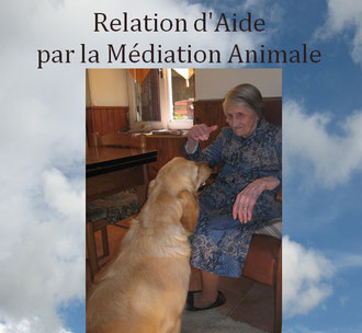 médiation animale personne âgée avec un chien
