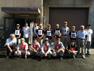 2014年7月12日家具手加工実技試験参加13名