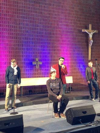 """Auftritt von """"Mundial"""" im Rahmen der Nacht der Kirchen"""