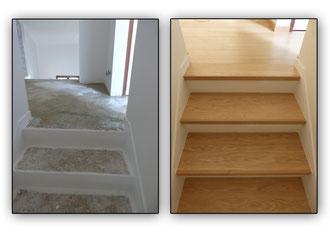 Avant apr s l 39 artboisi re mobilier agencement bois for Dans quel sens mettre le parquet
