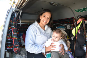 Bebé abordo: Naza y Lorenzo en la Zaigua