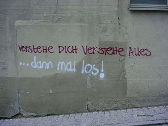 Grafitto in der Brunnsteige, Nürtingen