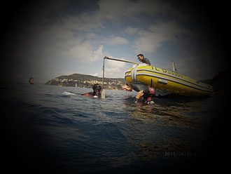 free diving villefranche