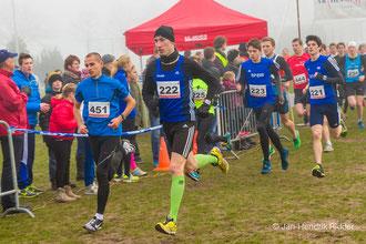 LAZ-Crossläufer Stefan Ritte (222), Malte Stockhausen (223), Janek Betting (221) sowie der Wattenscheider Hendrik Pfeiffer (451, ehemals LAZ Rhede) zeigten starke Leistungen im benachbarten Winterswijk.