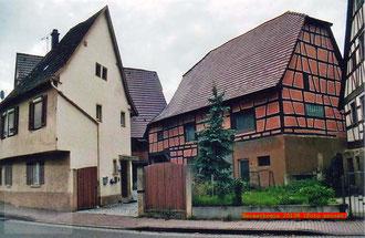 Anwesen des Wundarztes Weisert an der Brettenerstrasse in Derdingen (Foto privat)