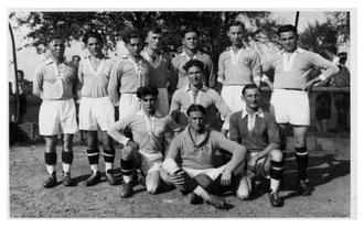 Derdinger Fußballer 1950